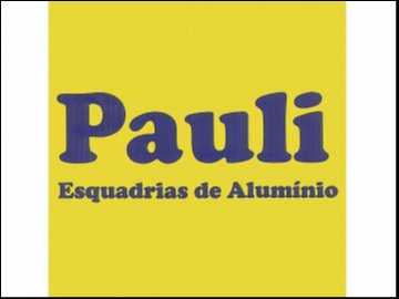 ESQUADRIAS DE ALUMÍNIO PAULI