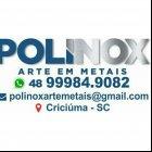 POLINOX ARTE EM METAIS