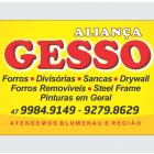 ALIANÇA GESSO