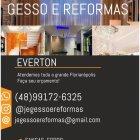 J&E GESSO E REFORMAS