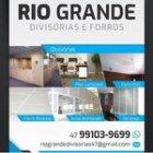 RIO GRANDE DIVISÓRIAS E FORROS